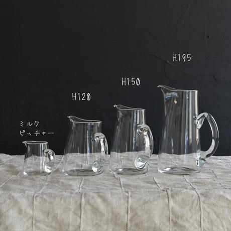 小宮崇 ガラスのピッチャー H120 ③E~H