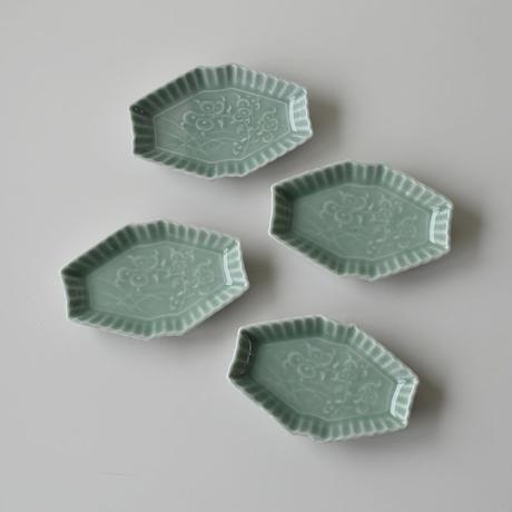 古道具部 菱形青磁皿