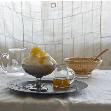 小宮崇 ガラスのデザートカップ グレー ⑪