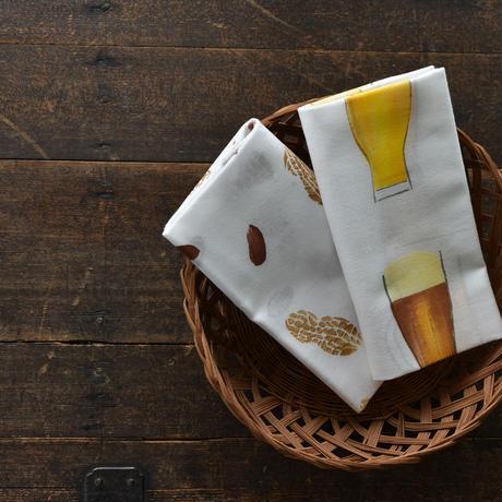 アケモドロ 型染め手ぬぐい ビール