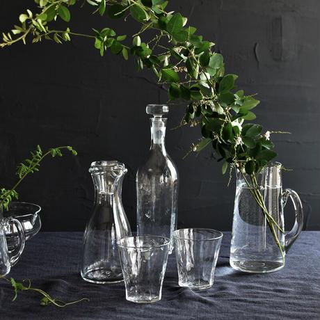 小宮崇 ガラスの蓋付きボトル H180 ⑦