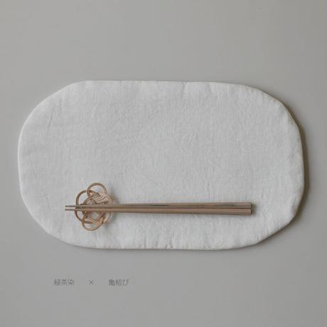 このひ 籐編みの箸置き