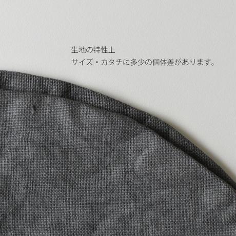 糸.so はんげつマット 古色(濃グレー)