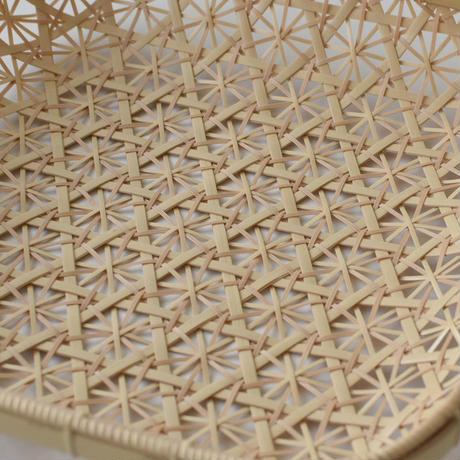 竹編みのKIKUプレート