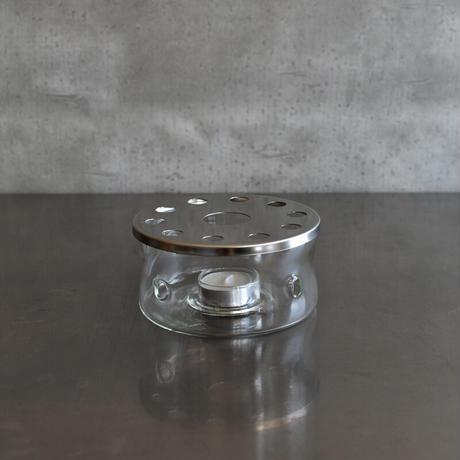 ガラスのキャンドルウォーマー