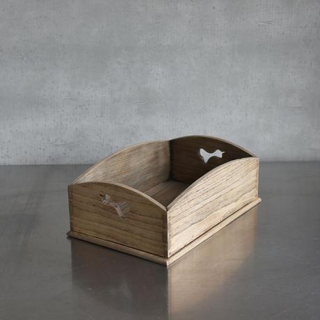 古道具部 瓢箪透かし彫り煙草盆 A