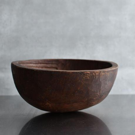 古道具部 木の掬い鉢