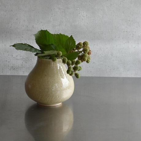 たくまポタリー 花活け  大 オリーブ