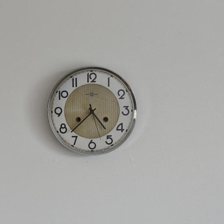 古道具部 振り子時計の文字盤時計(SEIKOSHA)
