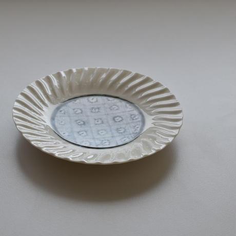 マイケル・ケリー 安南手 輪花皿 5寸