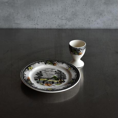 古道具部 パン皿・エッグスタンドセット