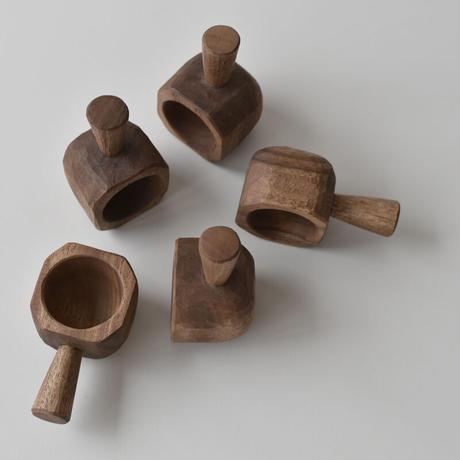 木彫りのコーヒースプーン
