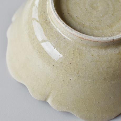 たくまポタリー 6寸鉢 芙蓉 はちみつ釉