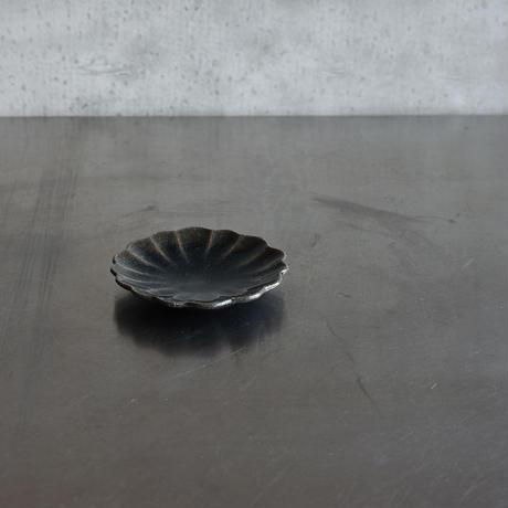 たくまポタリー ハナ 小皿 藍