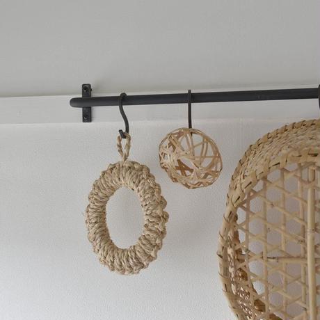 竹編みの手拭立て