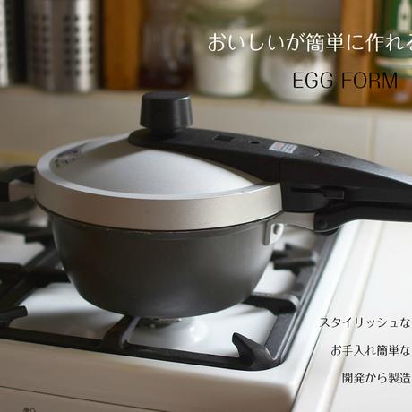 ホクア EGG FORM 圧力鍋(IH対応)3L