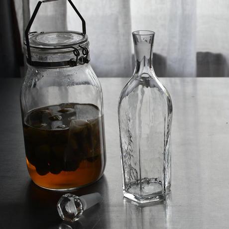 小宮崇 ガラスの蓋付きボトル H250 ⑥