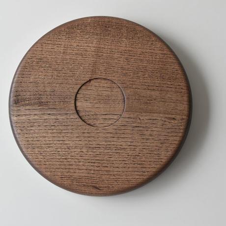 古道具部 丸盆(オイル仕上げ)