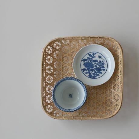 古道具部 藍九谷の小皿