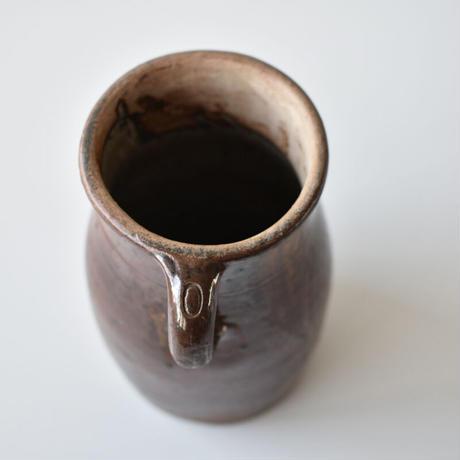 古道具部 フランス 陶器のPOT
