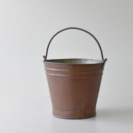 古道具部 銅のバケツ
