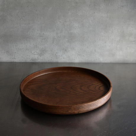 古道具部 欅の丸盆