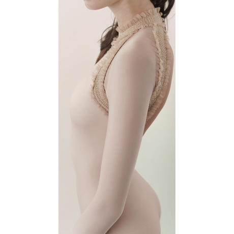 [Just A Corpse] ELEANOR BACKLESS LEOTARD - NUDE