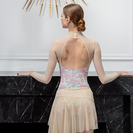 "[Ballet Maniacs] Tunique Skirt ""Nude Rose"""