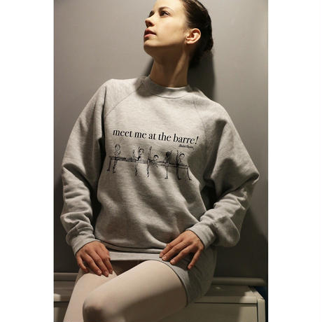 [Ballet Papier]UNISEX PULLOVER AT THE BARRE