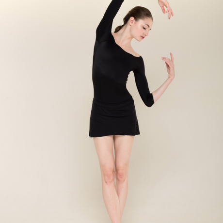 [Zi dancewear] The Skirt + Shorts Stretch