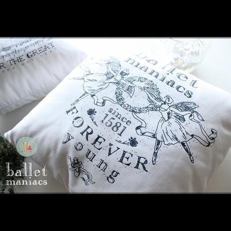 [Ballet Maniacs] クッション'Ballet Maniacs'