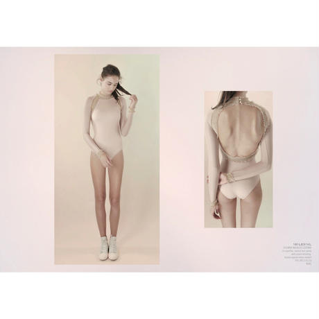 [Just A Corpse・予約商品] ELEANOR BACKLESS LEOTARD - NUDE