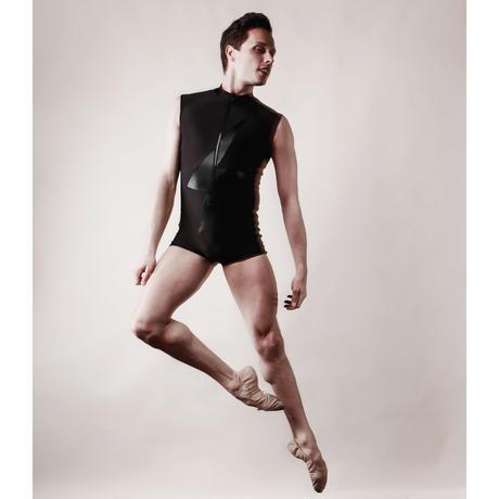 [Ballet Maniacs] Unitard Balletman Black by Igor Kolb