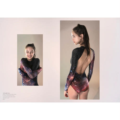 [Just A Corpse・予約商品] GALAXY – long sleeves leotard - night
