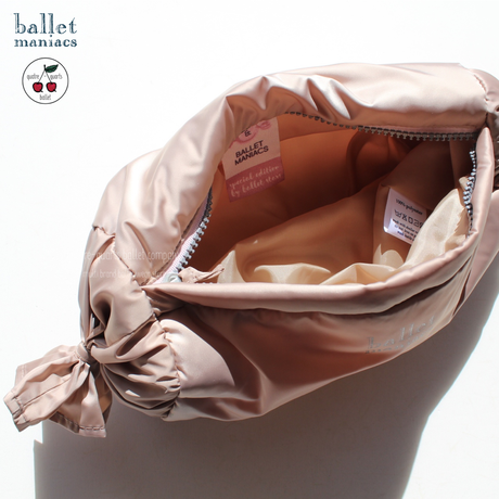 [Ballet Maniacs] Cosmetic bag Bonbon by Evgenia Obraztsova Pearly Beige