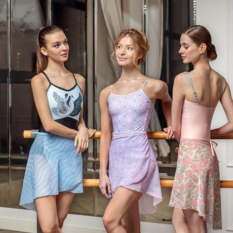 "[Ballet Maniacs] Wrap Skirt ""Sugar Plum Fairy"""