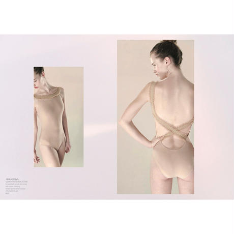 [Just A Corpse・予約商品] ELEANOR – nude cross back leotard