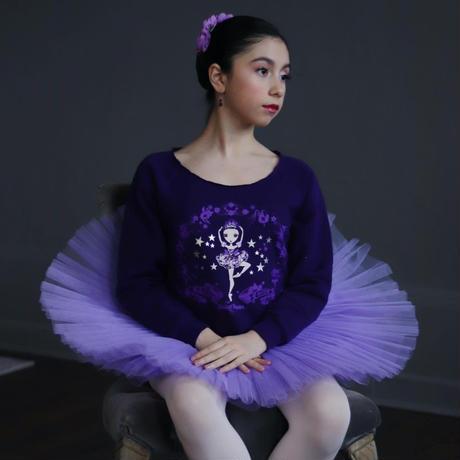 [Ballet Papier] PULLOVER 'LILAC FAIRY'