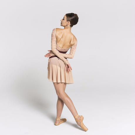 [Ballet Maniacs] Wrap Skirt 'Nude'