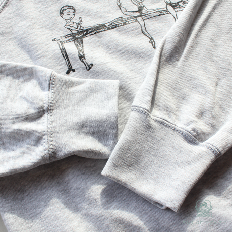 [Ballet Papier]PULLOVER AT THE BARRE KIDS(キッズサイズ・単品)