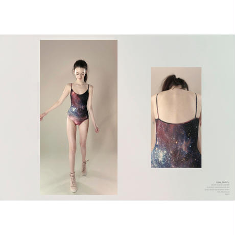 [Just A Corpse・予約商品] GALAXY – classic leotard - night