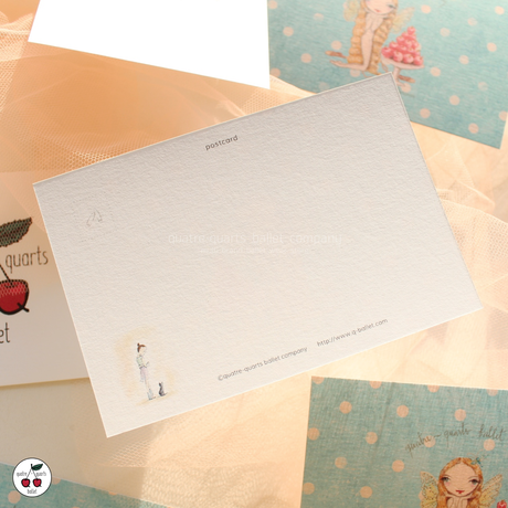 quatre-quarts ballet company オリジナルポストカード(2種セット)