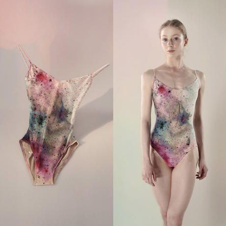 [Just A Corpse] GALAXY – classic leotard - aquarelle