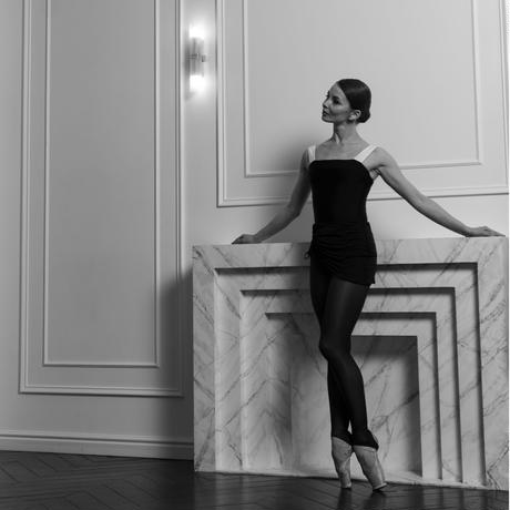 [Ballet Maniacs] Leotard Victory by Evgenia Obraztsova Black & White