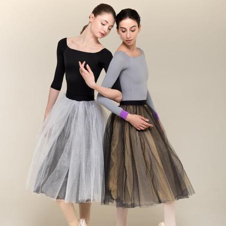 [Zi dancewear] 2-sided tutu skirt ・2型