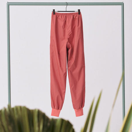 """[S M K] RASPBERRY RECYCLED POLYESTER UNISEX PANTS """"シャカパン"""""""