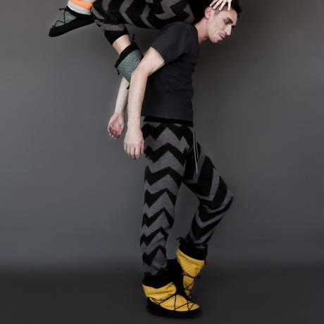 [Ballet Maniacs] Pants Black & Grey for boys by Igor Kolb