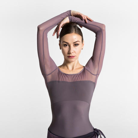 [Ballet Maniacs] Dream Leotard by Kristina Kretova! Grey Lilac