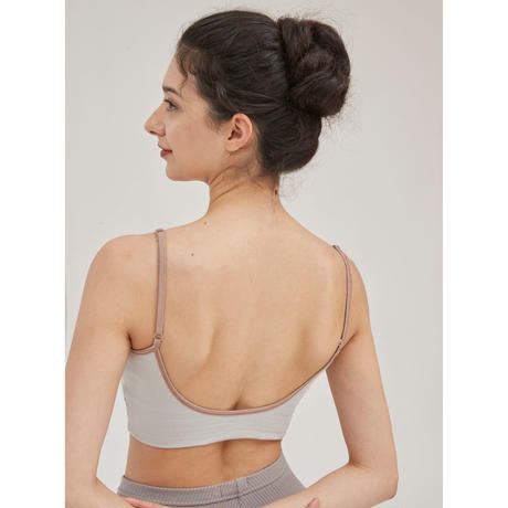 [S M K] ORGANIC COTTON SPORTS BRA (BRA01FW17_2)