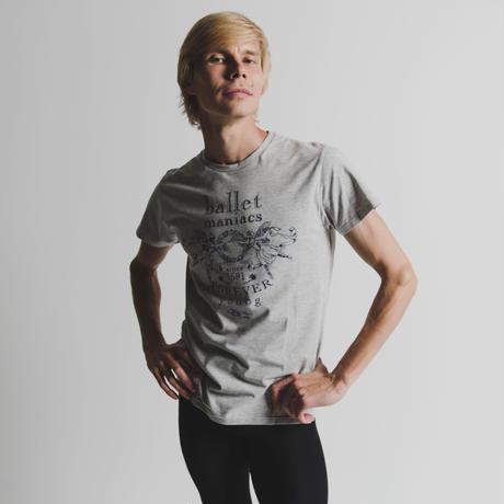 [Ballet Maniacs] T-shirt 'Ballet Maniacs' for Him